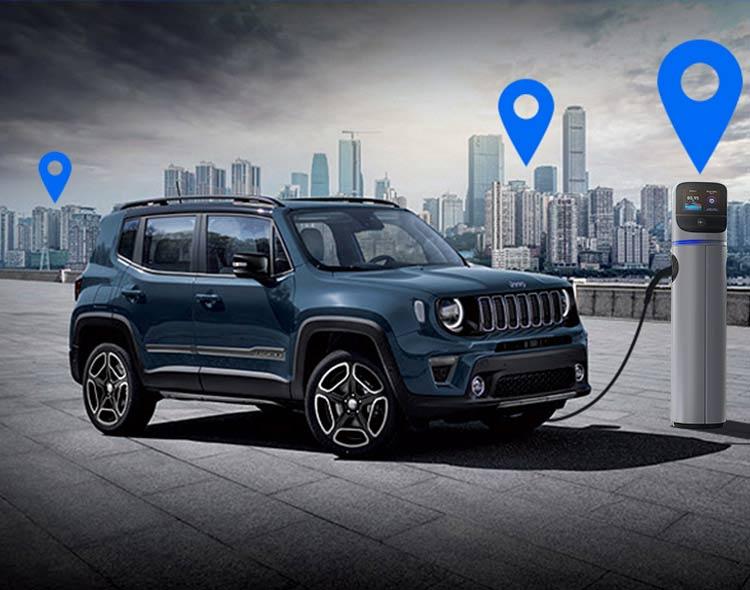 Risultato immagini per jeep renegade plug in hybrid